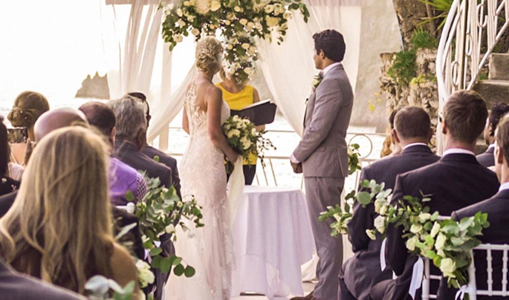 civil wedding in praiano
